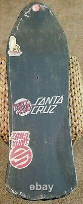 Santa Cruz Jason Jessee Neptune Skateboard Deck Vintage NOS Black Dipped Rare