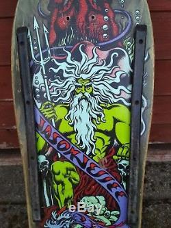 Santa Cruz Jason Jessee Neptune deck 1988-89 version Rare Good condition
