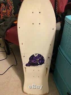 Santa Cruz Jeff Grosso Toybox OG Original Used Vintage 80s Skateboard Deck Rare