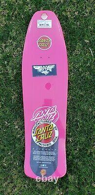 Santa Cruz Jeff Grosso Toybox Skateboard Deck Reissue Pink Dip toy box