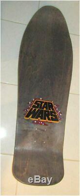 Santa Cruz Neptune Mermaid Jason Jessee Darth Vader Star Wars Skateboard Deck