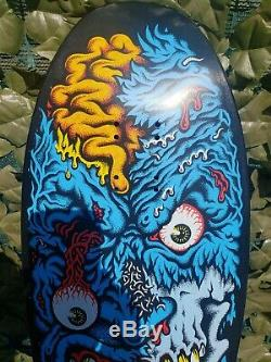 Santa Cruz Rob Roskopp Face 2 Reissue Skateboard Deck