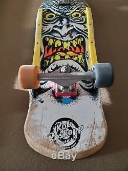 Santa Cruz Rob Roskopp Face Vintage Skateboard