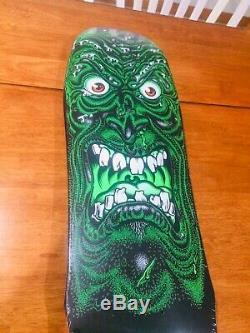 Santa Cruz Rob Roskopp Limited Edition 1 Of 300! Skateboard Black Green
