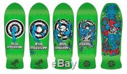 Santa Cruz Rob Roskopp Reissue Set Of 5 Skateboards
