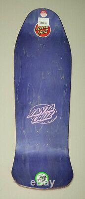 Santa Cruz SALBA Witch Doctor Steve Alba Reissue Skateboard Deck Pink Dip 10.4