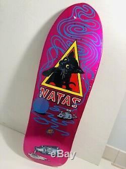 Santa Cruz SMA Natas Kitten Skateboard Deck NEW SMA Powell Candy Pink