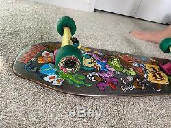 Santa Cruz Skate Simpsons Bart Toybox Mini Cruzer Skateboard Deck Complete Bart