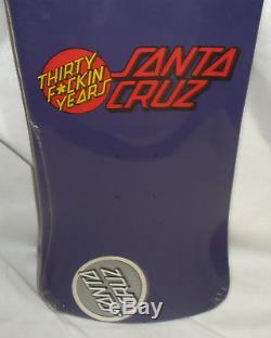 Santa Cruz Skateboard Jeff Grosso 30 Yrs REissUE NOS Factory Sealed