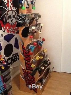 Santa Cruz Skateboard / Longboard Deck Display Rack Holder