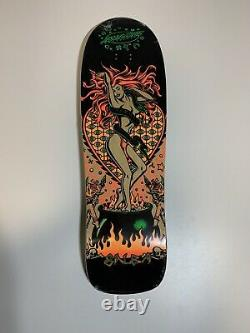 Santa Cruz Skateboard Salba Witch Doctor Grand Shaped Re-Issue 9.7 Old School