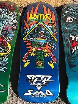 Santa Cruz Skateboards Jessee Neptune Natas Panther Roskopp Face Reissue Pack