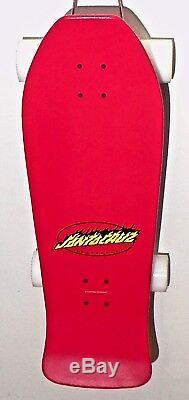 Santa Cruz Skateboards Red Jeff Grosso Demon Blue Old School Skateboard Complete