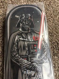 Santa Cruz Star Wars Darth Vader Skateboard Deck Comic-con Limited