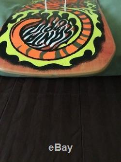 Santa Cruz Steve Alba Tiger Skateboard Deck Salba, NOS, 1990, Mint
