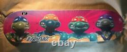 Santa Cruz Teenage Mutant Ninja Turtles Action Figures Everslick Skateboard Deck