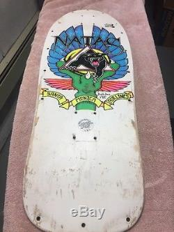 Santa Cruz Vintage Natas Skateboard Deck Used Santa Monica Airlines