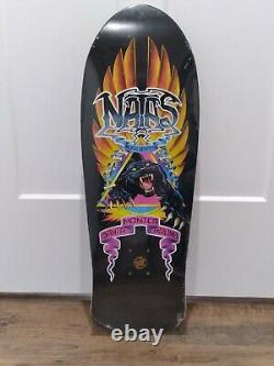 Santa Cruz x Edmiston Natas Panther Reissue Redux Skateboard Deck SMA Guest Art