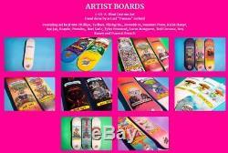 Santa Cruz x Garbage Pail Kids Skateboard Deck Limited Rare Sealed Adam Bomb