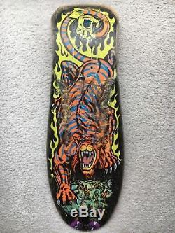 Santa cruz skateboard salba tiger Og Vintage