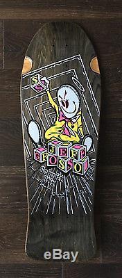 Schmitt Stix Grosso Blocks Skateboard Deck NOS 80's Vintage Rare