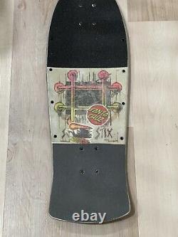 Schmitt Stix Lucero Vintage 80s Skateboard Deck G&S Alva Powell Santa Cruz