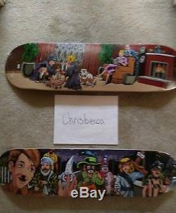 Sean Cliver Supreme Skateboard Decks Halloween + Dick & Jane 2008