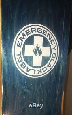 Signed Black Label Emergency Jeff Grosso Ragdoll skateboard Deck Schmitt Stix