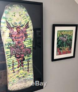 Sims 1987 Jeff Phillips Skateboard Tye Dye Demon Deck Pro Model 2 Vintage RARE