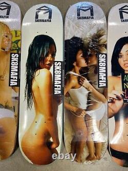 Sk8mafia skateboard Decks The Girls Deck Lot Series New In Shrink Girl