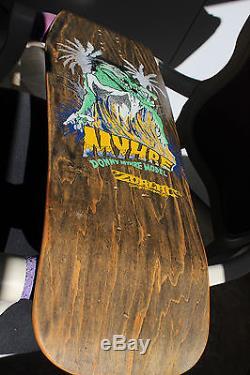 Skate Zorlac Donny Myhre by Pushed. Mint condition! Skateboard. Vintage, old school