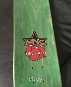 Skateboard Deck Menace MNC Billy Valdes /// 90s Vintage NOS ///1996