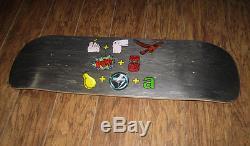 Skateboard POWELL PERALTA Tony Hawk deck pictograph vintage bones brigade RARE