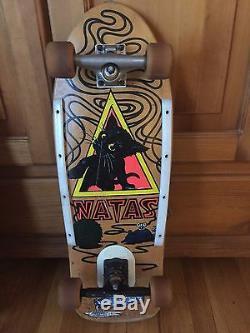Skateboard Vintage Natas SMA Santa Cruz Original Mini Deck 1980's Complete