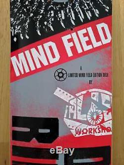 Skateboard deck Dylan Rieder Alien Workshop Mind Field limited edition RARE