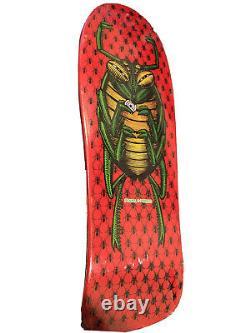 Skateboard decks Powell Peralta OG BUG Skateboard vintage 1988 red