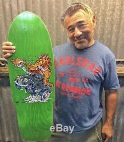 Steve Caballero Dragon Fink Artist Series #14/100 Skateboard Deck Limited