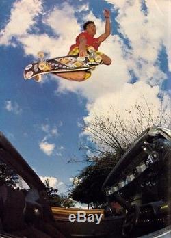 Steve Caballero XT Bonite Vintage Skateboard Deck NOT a reissue NO Reserve