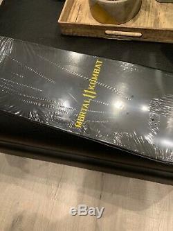 Steve Caballero X Mortal Kombat Exclusive Skate Deck FightKlub 1/50 Gold Edition