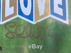 Strangelove Nudisneyland Skateboard Deck Sean Cliver Signed Cease & Desist RARE