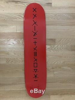 Supreme Damien Hirst Skateboard Deck Spin Blue Dot Murakami Koons LV Kaws Condo