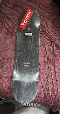 Supreme Exit Red Skateboard Deck 8 1/4 Brand New