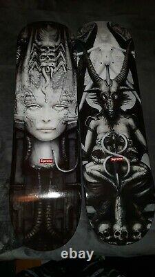 Supreme Hr Giger Skateboard Deck Set