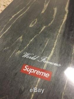 Supreme Illegal Business Skateboard Ss18 Week 1 Skate Deck Red Ibca Box Logo