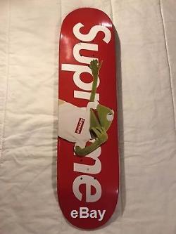 Supreme Kermit The Frog Skateboard Deck