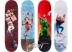 Supreme Mike Hill Skate Decks Set Of 4 Full Skateboarding Bogo Brooklyn Kermit