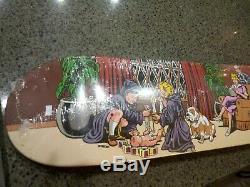 Supreme Sean Cliver Skateboard Rare Nos