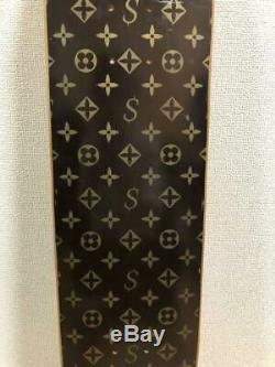 Supreme Skateboard Deck Authentic Super Rare Louis Vuitton Monogram Design
