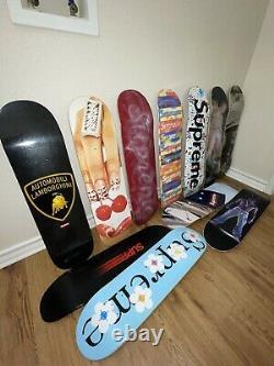 Supreme Skateboard Deck Lot (Pick 3)