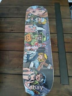 Supreme Skateboard Sean Cliver Halloween Deck Nos